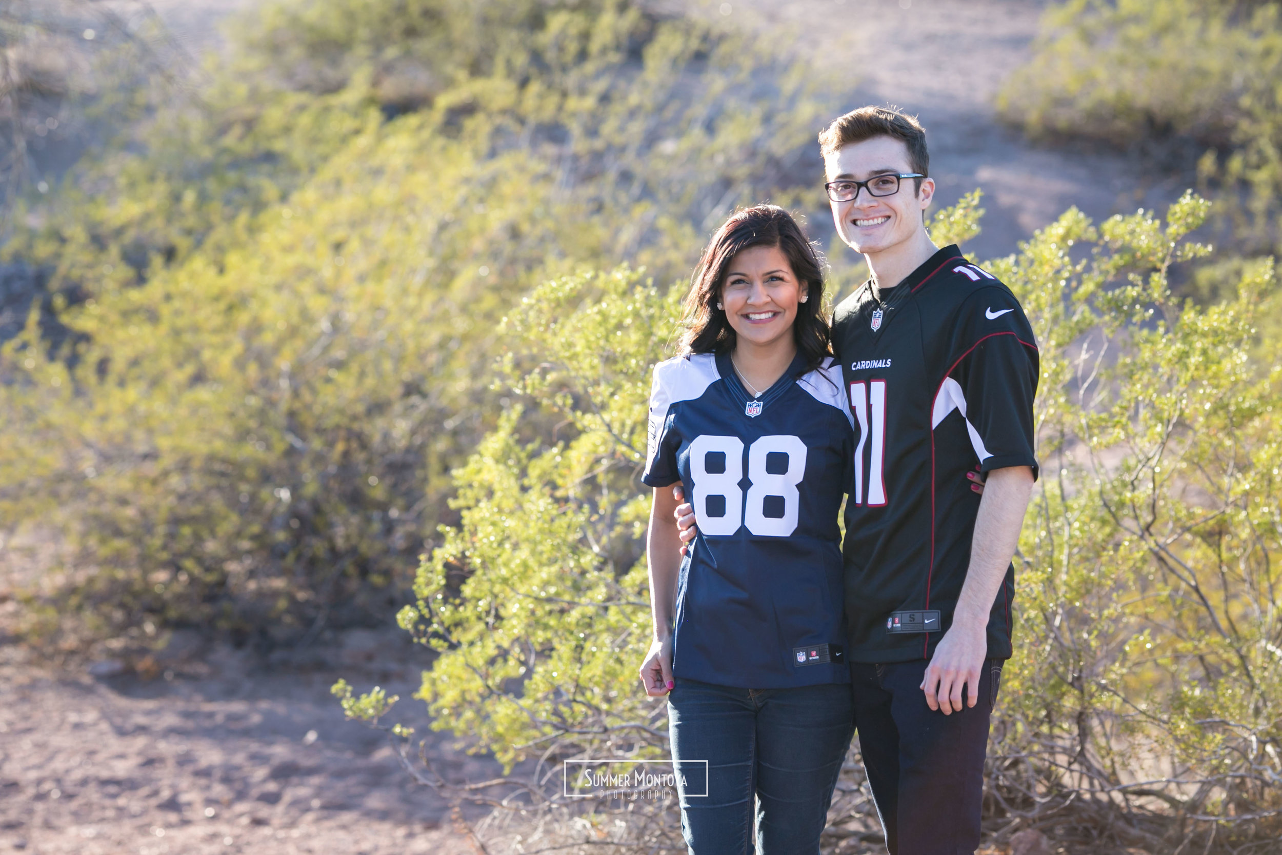 Papago Park Engagement
