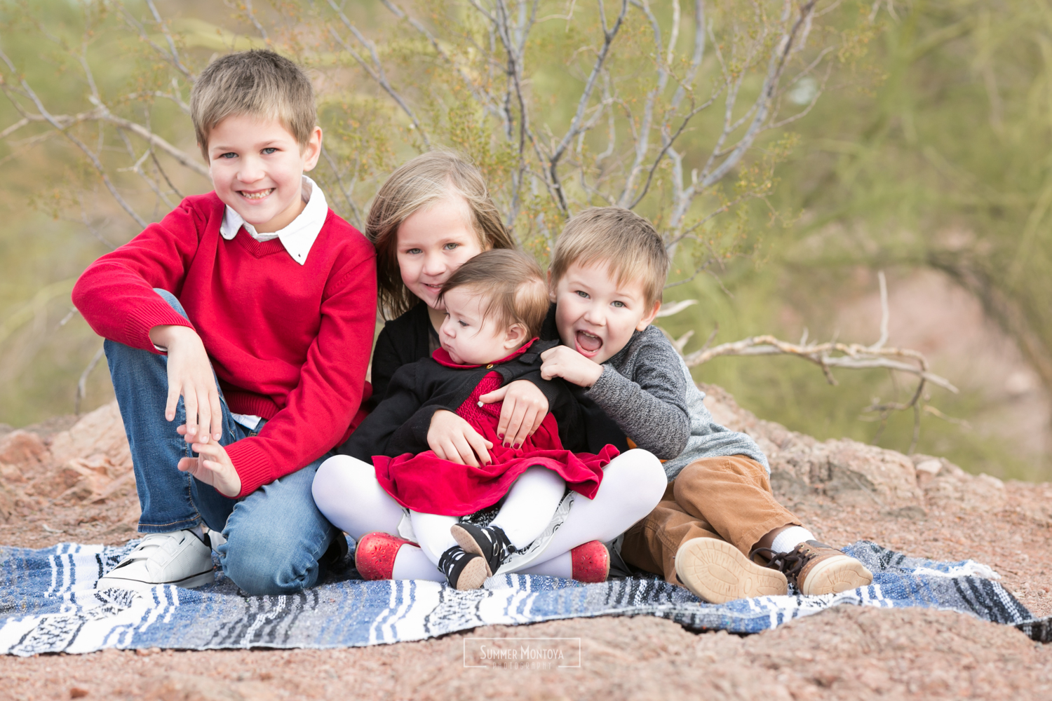 Papago Park family photos