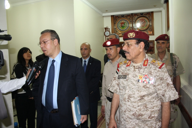 Ben Omar with Ali Muhsen