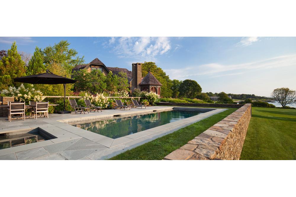 private residence, Middletown RI - Leblanc Jones Landscape Architects