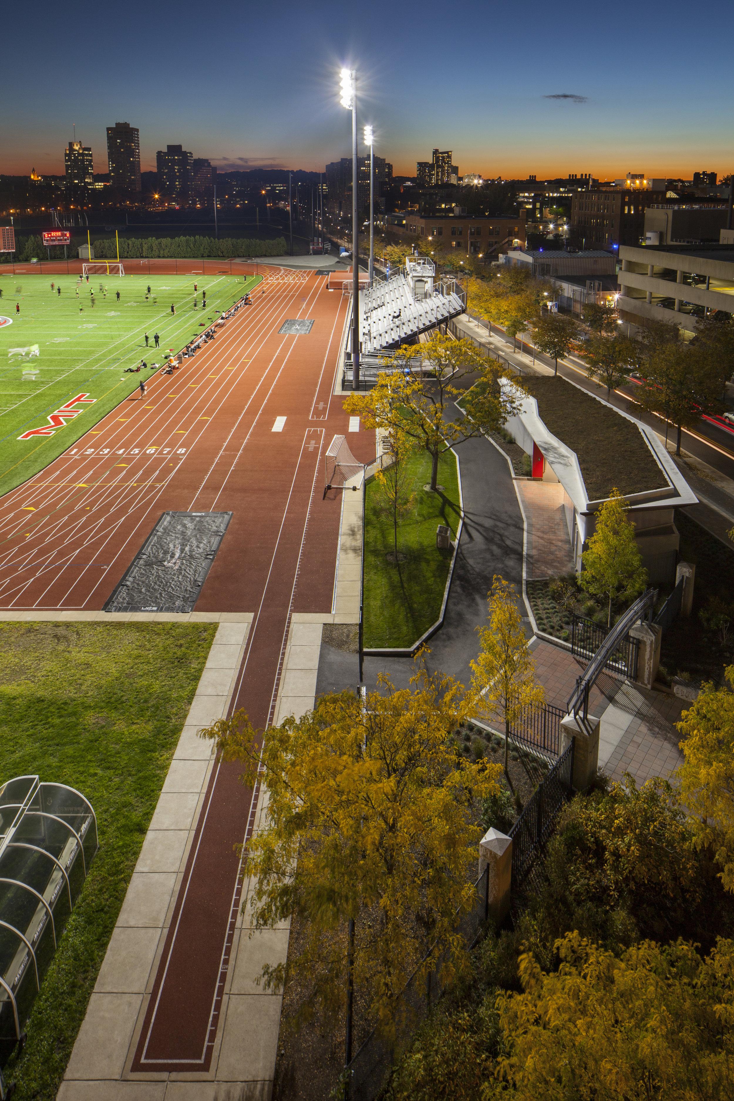 MIT Vassar Street Athletic Complex, Cambridge MA - Activitas