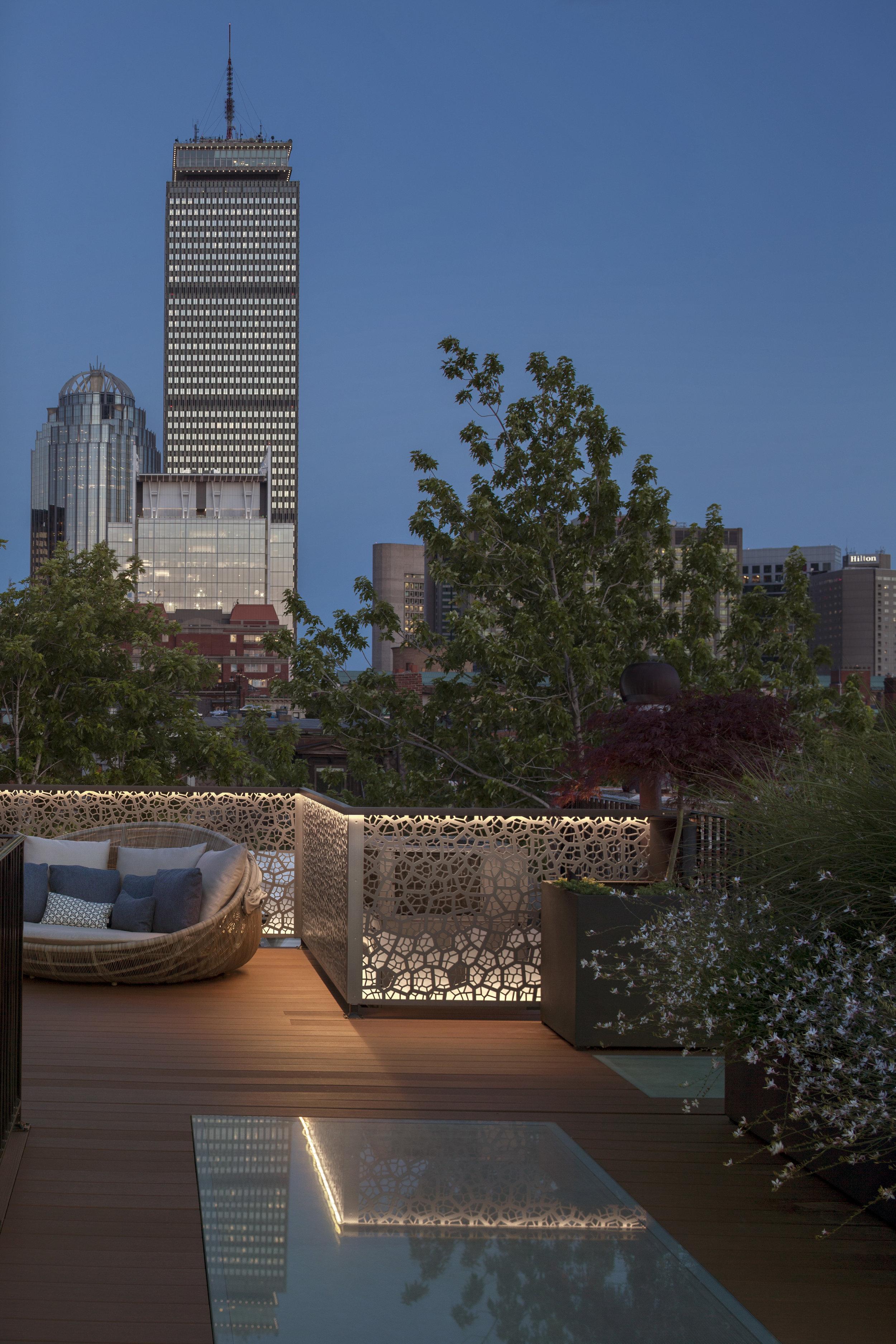 Back Bay residence, Boston, MA - Pate Landscape Architecture