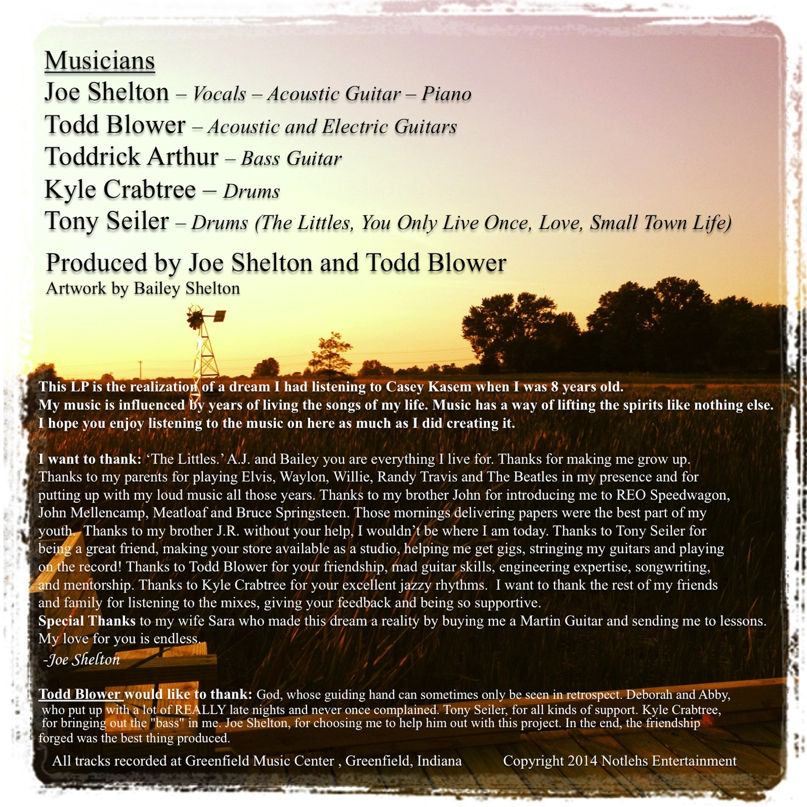 The Littles Album Credits Page