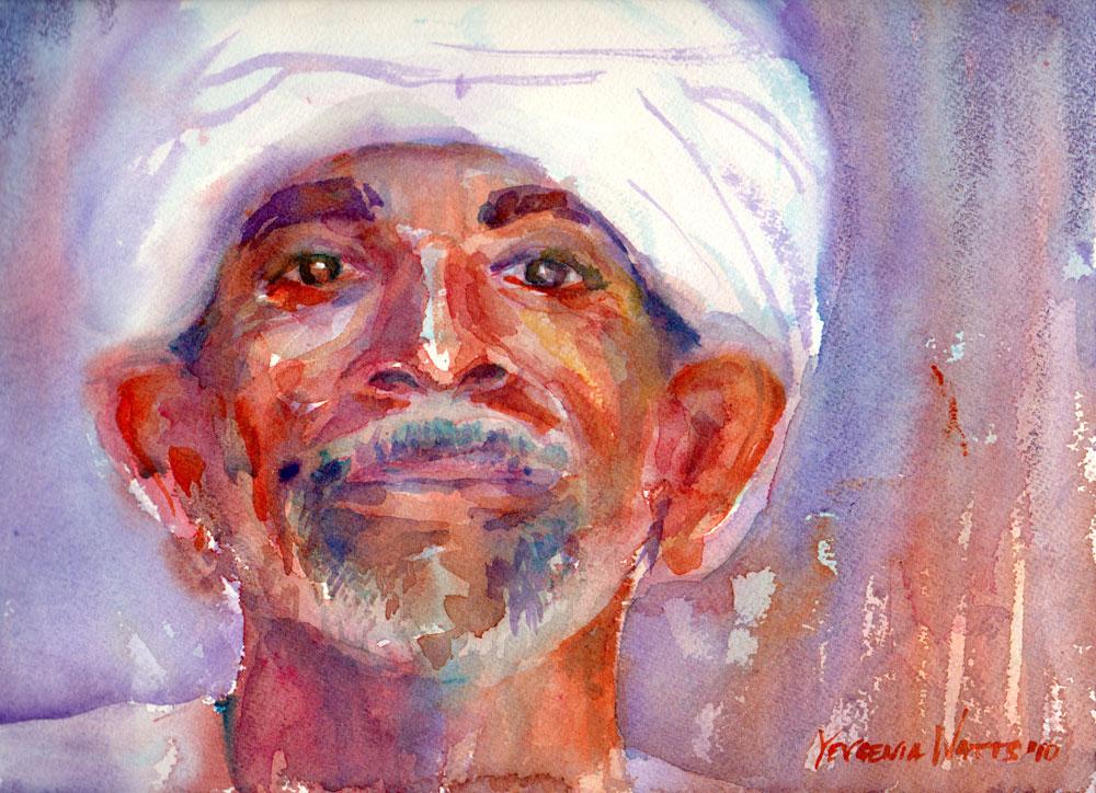 a portrait a day 34 egyptian