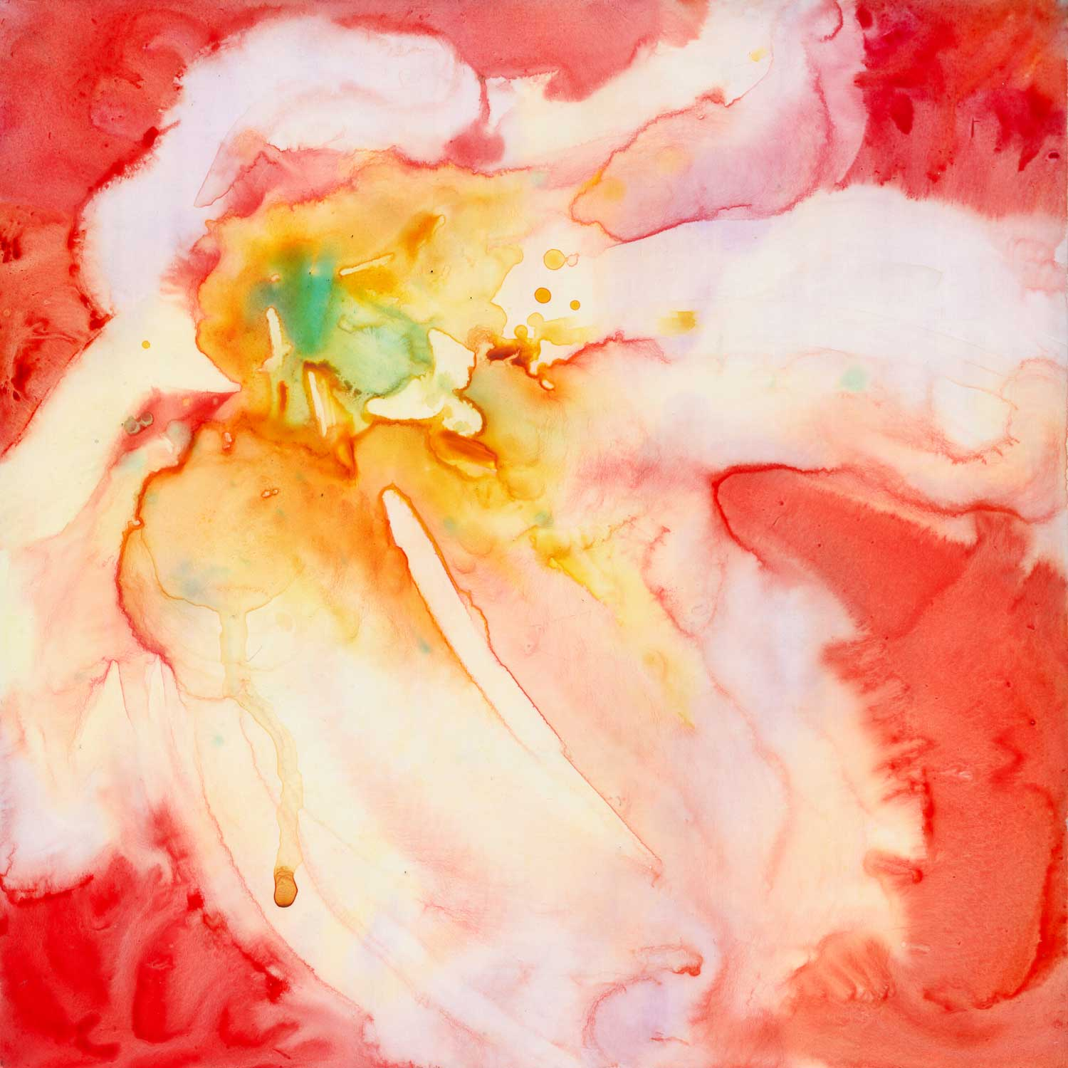 """""""Reverence"""" - watercolor on Yupo mounted on board. Click on the image to learn more."""