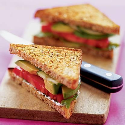 AvocadoTomatoSandwich