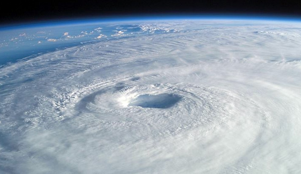 Cool ideas about city structures drawing hurricanes inland.