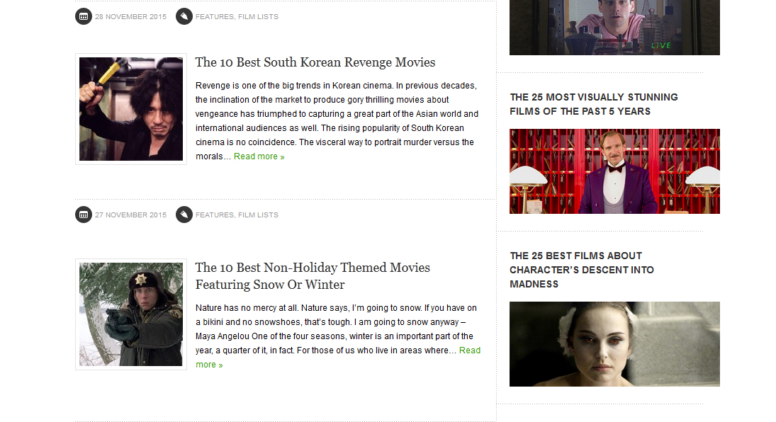 http://www.tasteofcinema.com/category/lists/film-lists/