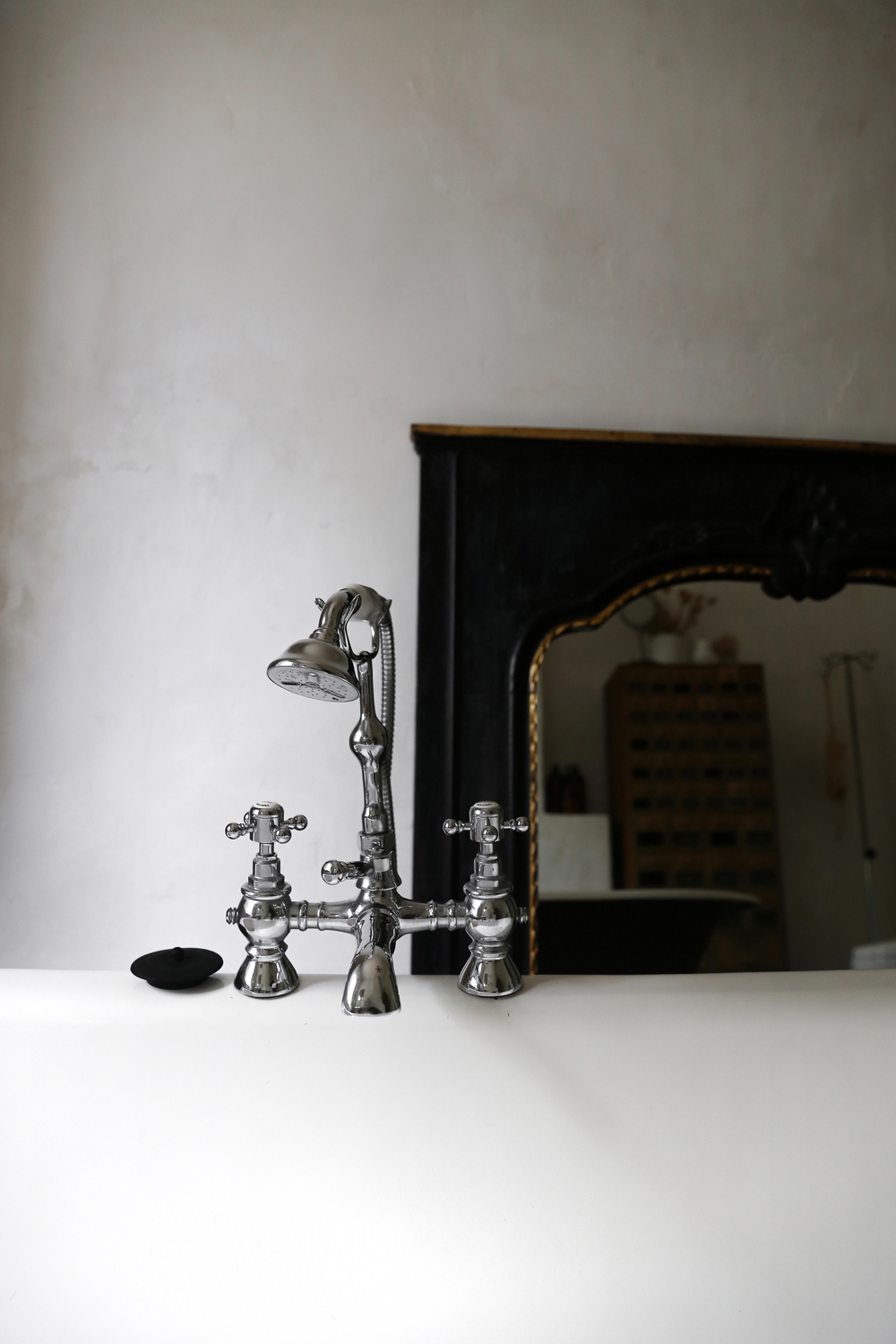Bathroom details from the main house.