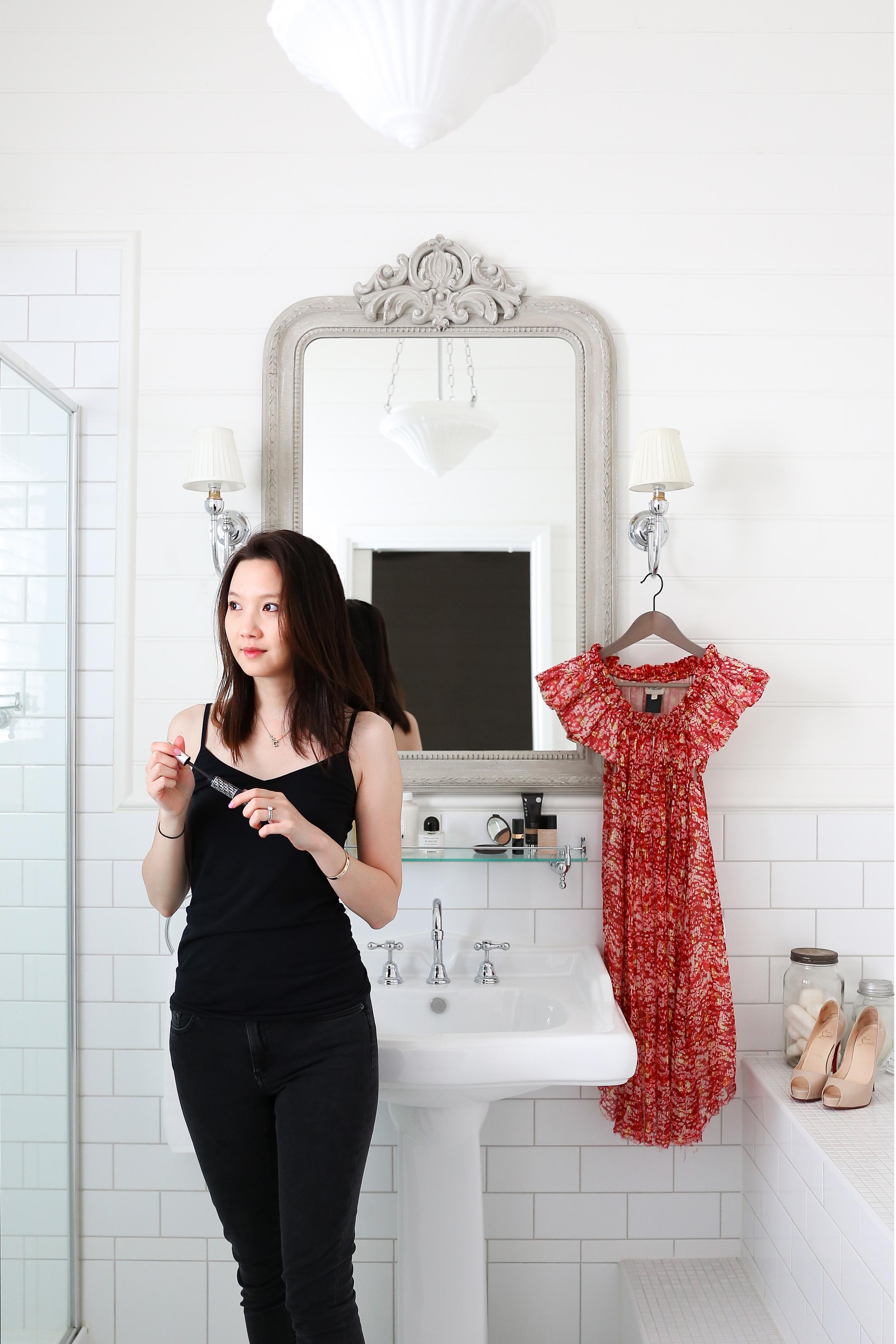 Bathroom swoon at  The Blackwood  in Sassafras.