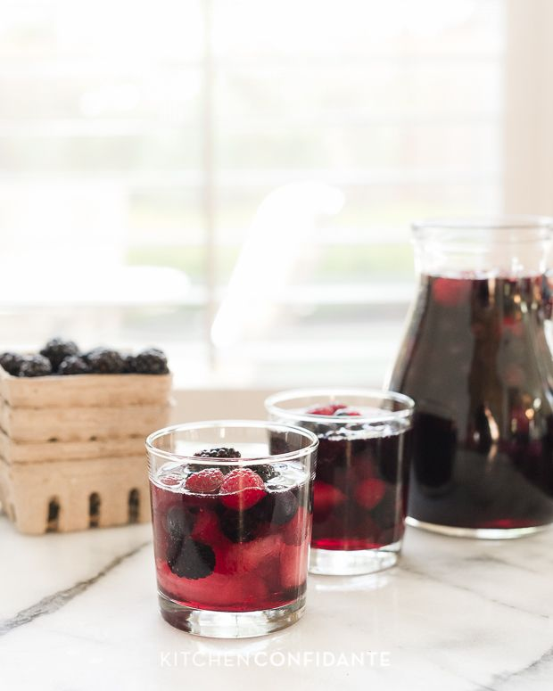 Berry Sangria from Kitchen Confidante
