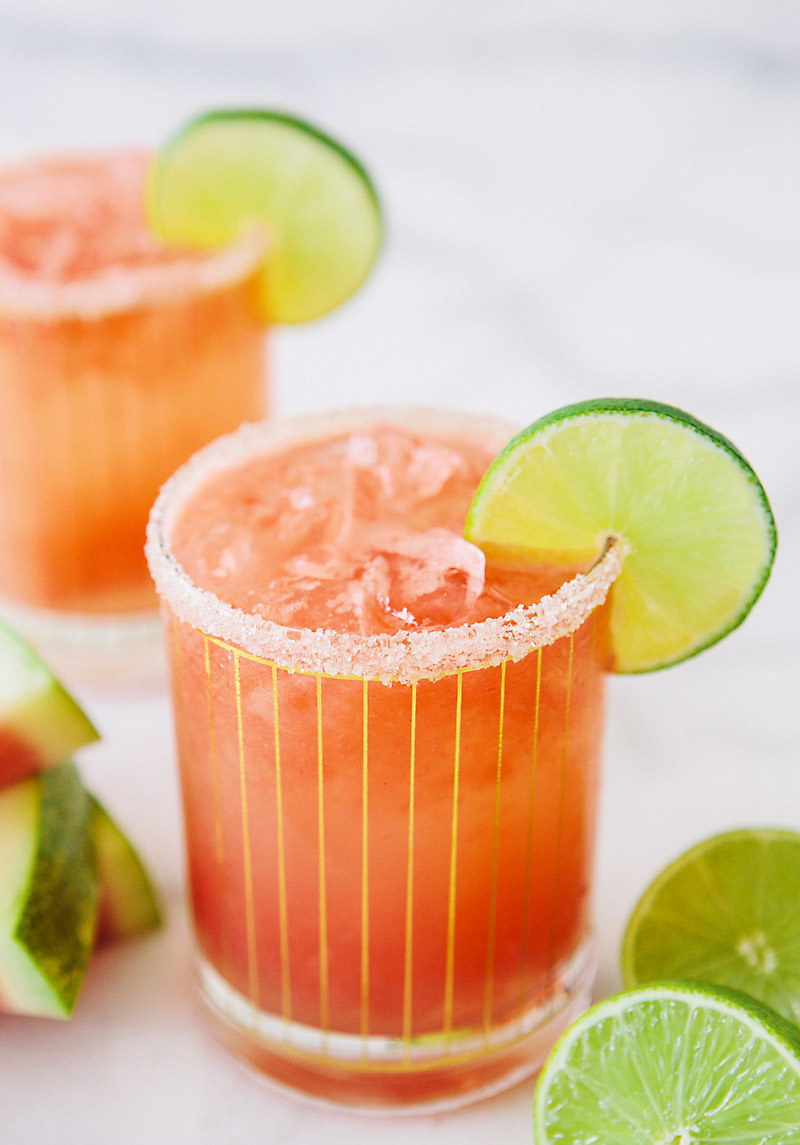 Boozy Watermelon Coconut Refresher from A House in the Hills
