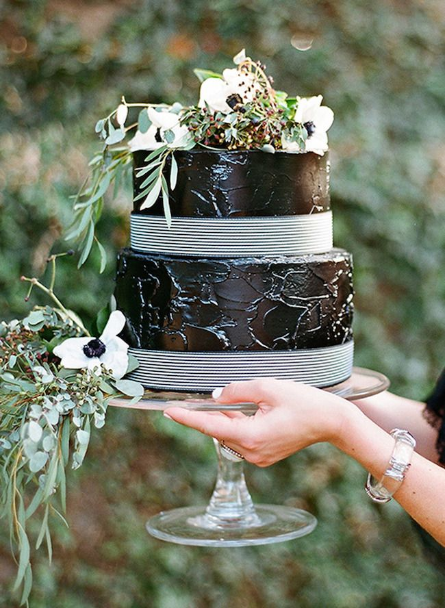 Cake and photography by Clayton Austin  via  Style Me Pretty