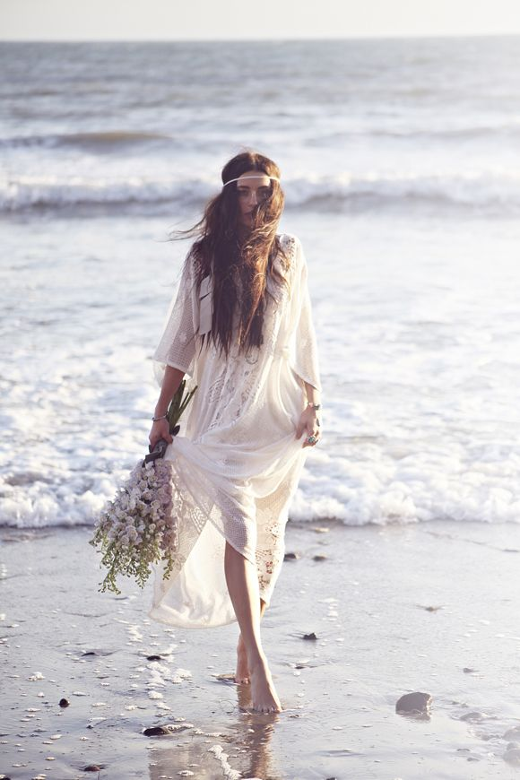 Free People wedding dress  by  Annie Emonds