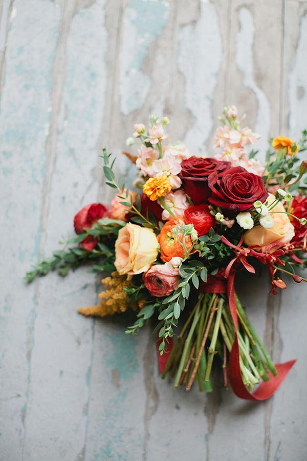 Merit & Vine  bouquet photographed by  Sami Jo Photography  via  Peter Loves Jane