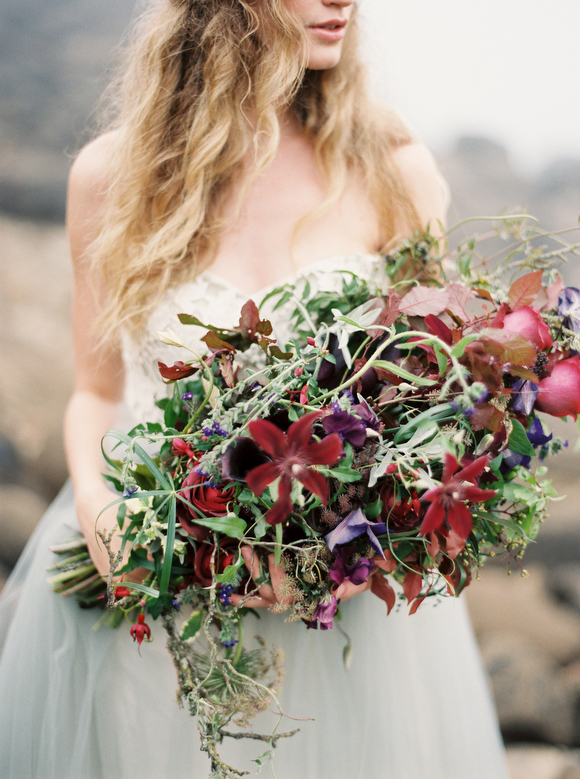 Ponderosa & Thyme  bouquet by  Greer G Photography  via  Wedding Sparrow