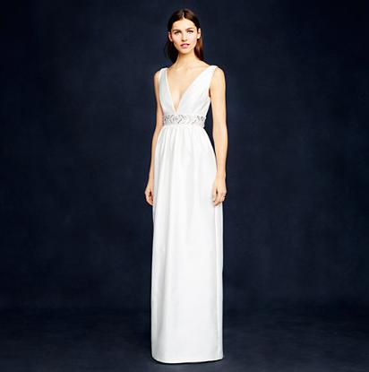 J. Crew Annabelle gown, $895