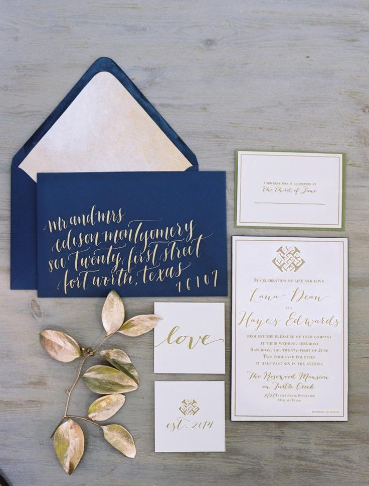 invitations by  Ben Q Photography  via  Brides of North Texas