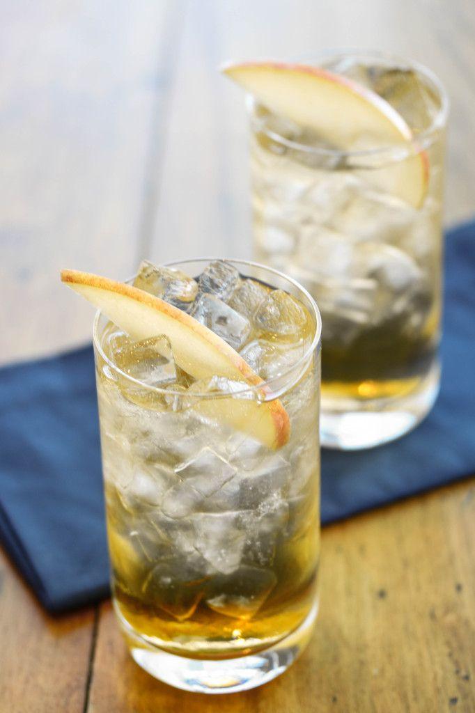 Smokey Apple Cider Cocktail