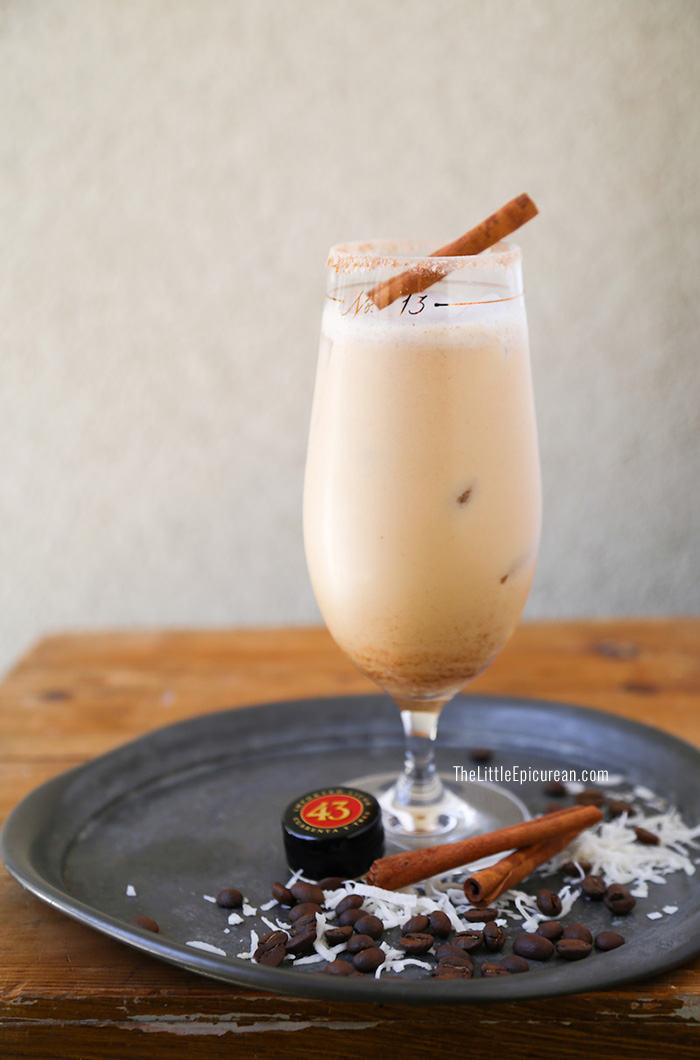 Licor 43 Coconut Coffee Cocktail