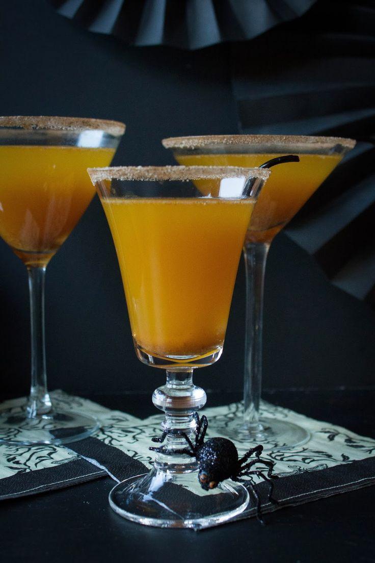Pumpkin Champagne Cocktail