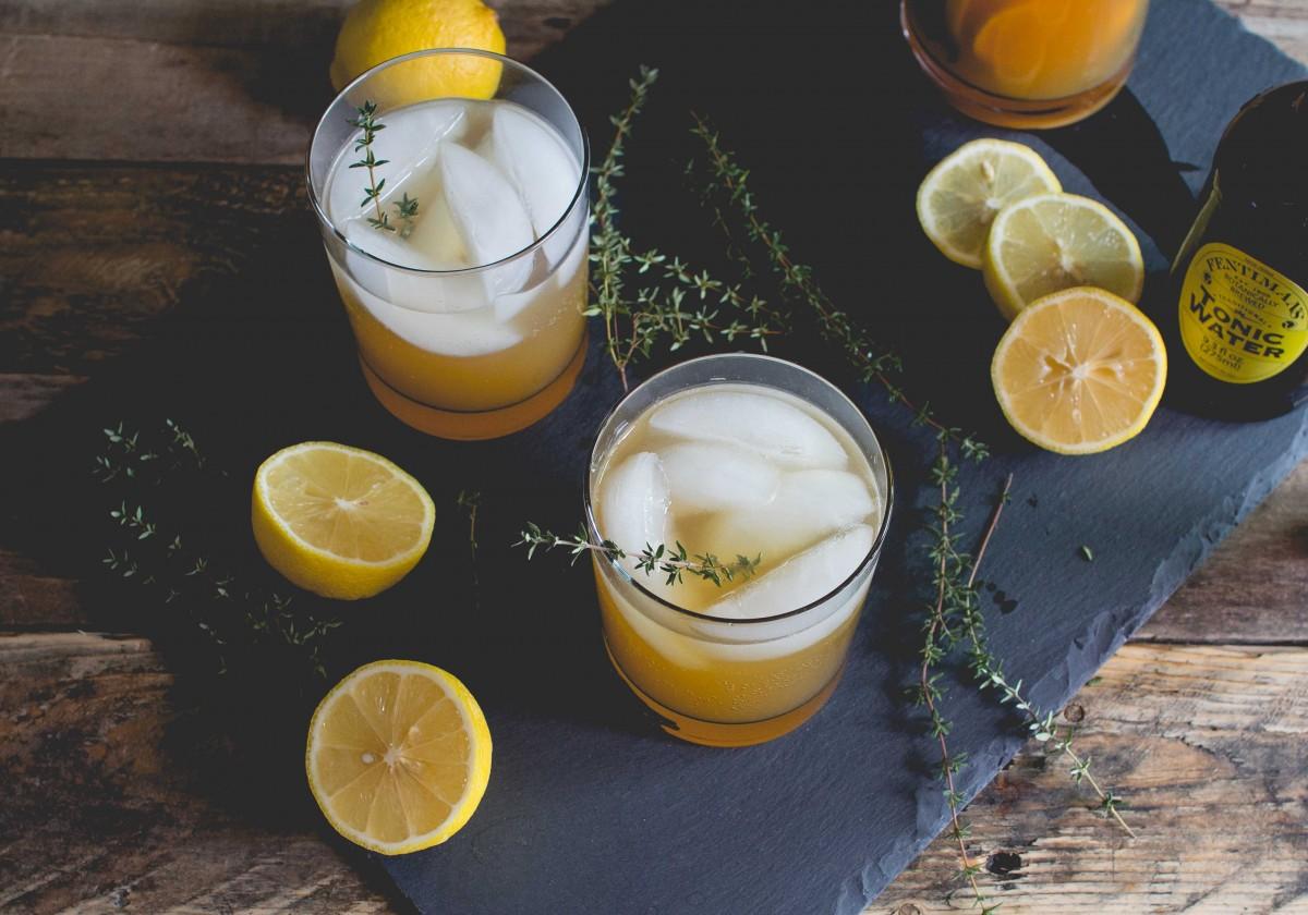 Cider & Thyme Mocktail