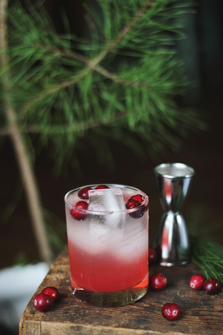 Cranberry Pine Mocktail