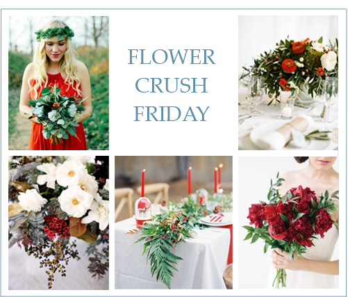 Flower Crush Friday: Holiday Florals