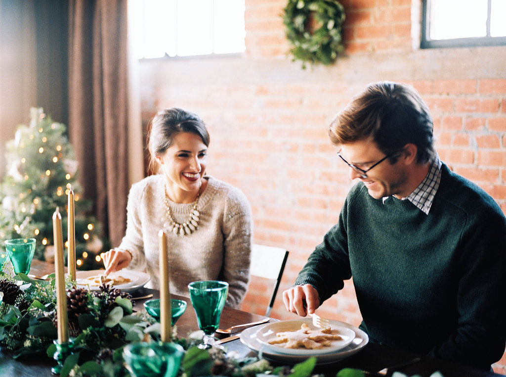 Newlywed Christmas Inspiration for Cottage Hill Magazine