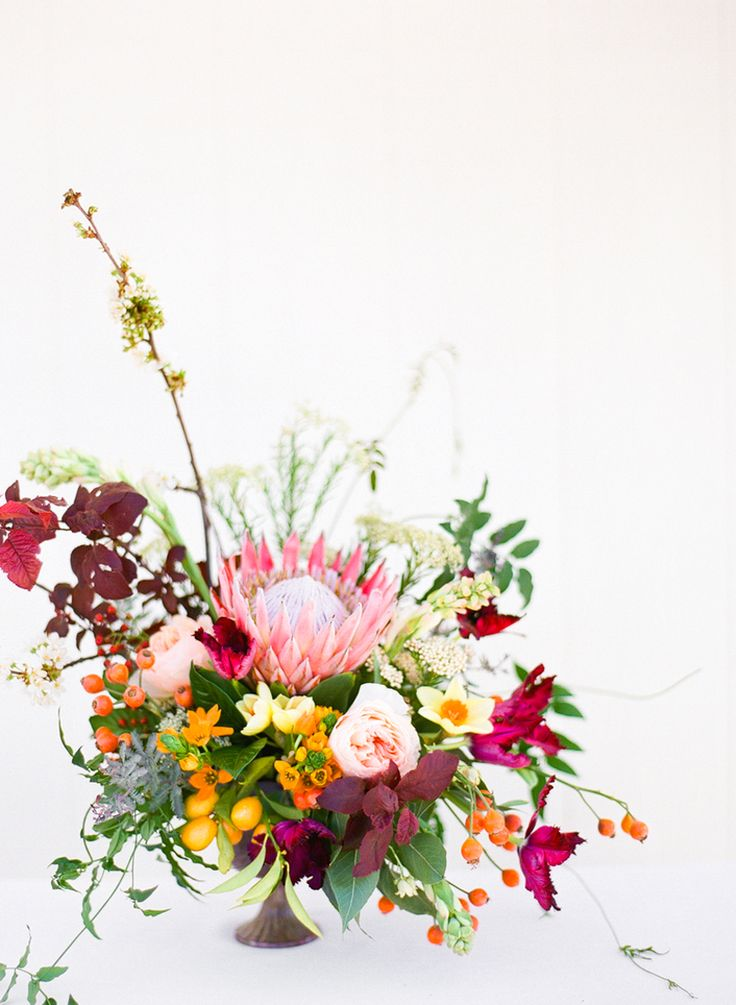 Posies  centerpiece  by  Stancy Higley