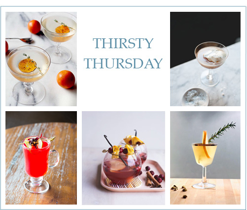 Thirsty Thursday: Delicious Winter Cocktails