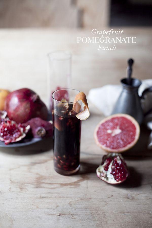 Grapefruit Pomegranate Punch