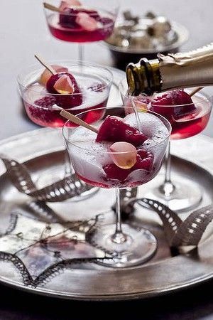 Rosewater & Sparkling Wine