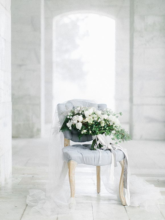 Winter Blues Wedding Inspiration