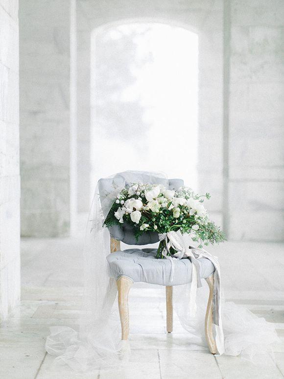 Winter Blues Wedding Inspiration