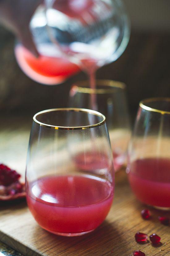 Pomegranate Grapefruit & Gin Cocktail