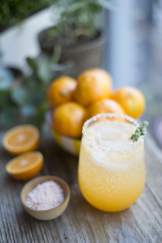 Winter Citrus Cocktail