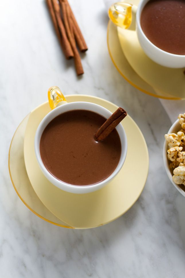 Cinnamon Tequila Hot Chocolate