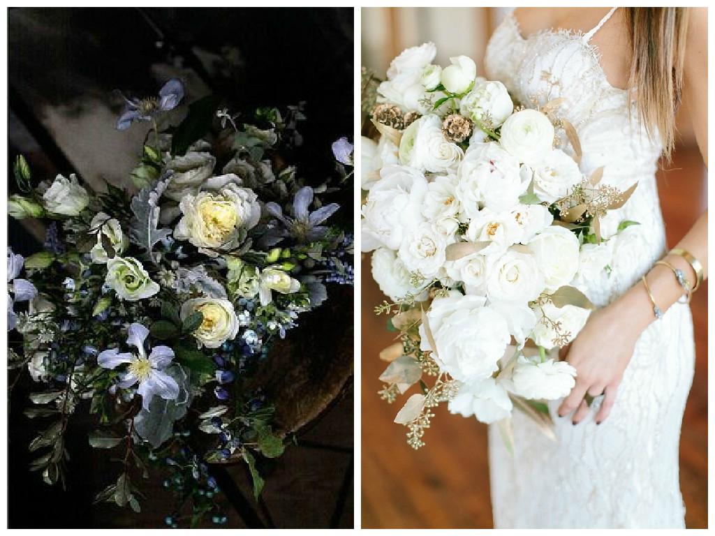 Flower Crush Friday: Black & Blue or White & Gold?
