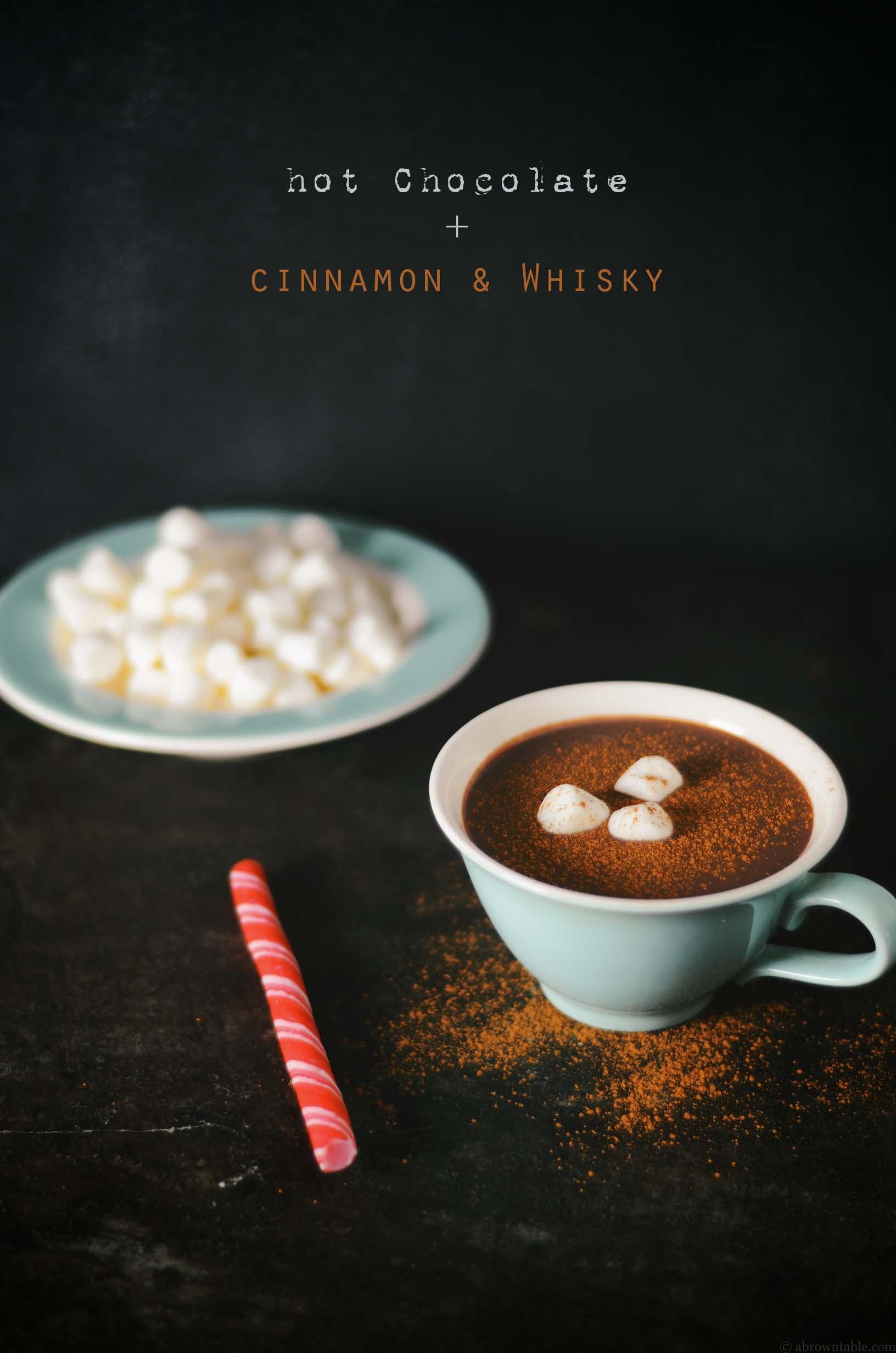 Cinnamon & Whiskey Hot Chocolate
