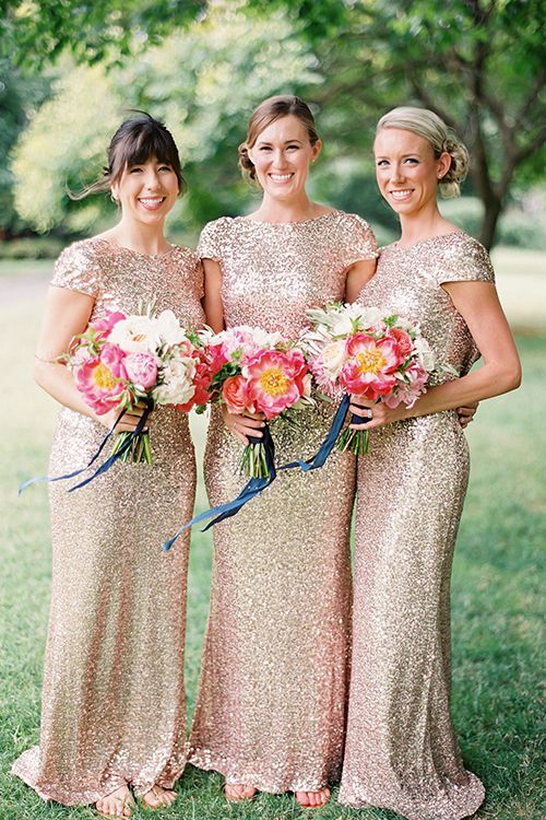 Badgley Mischka  gowns by  Coco Tran