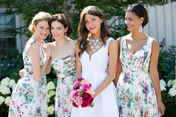 Donna Morgan  floral dresses