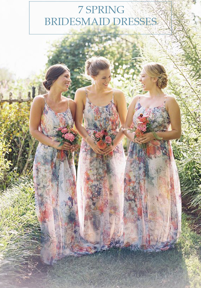 7 Spring Bridesmaid Dresses - Lindsey Brunk