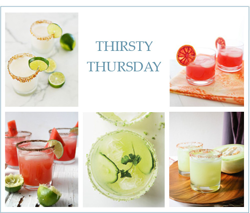 Thirsty Thursday: Spring Margaritas