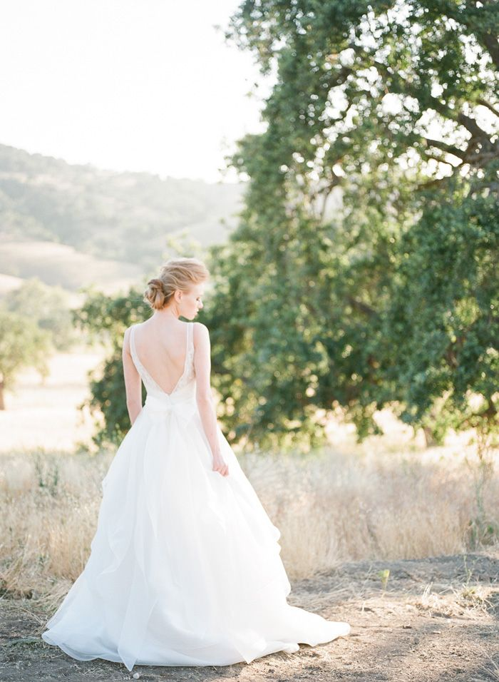 Paloma Blanca  gown by  Diana McGregor