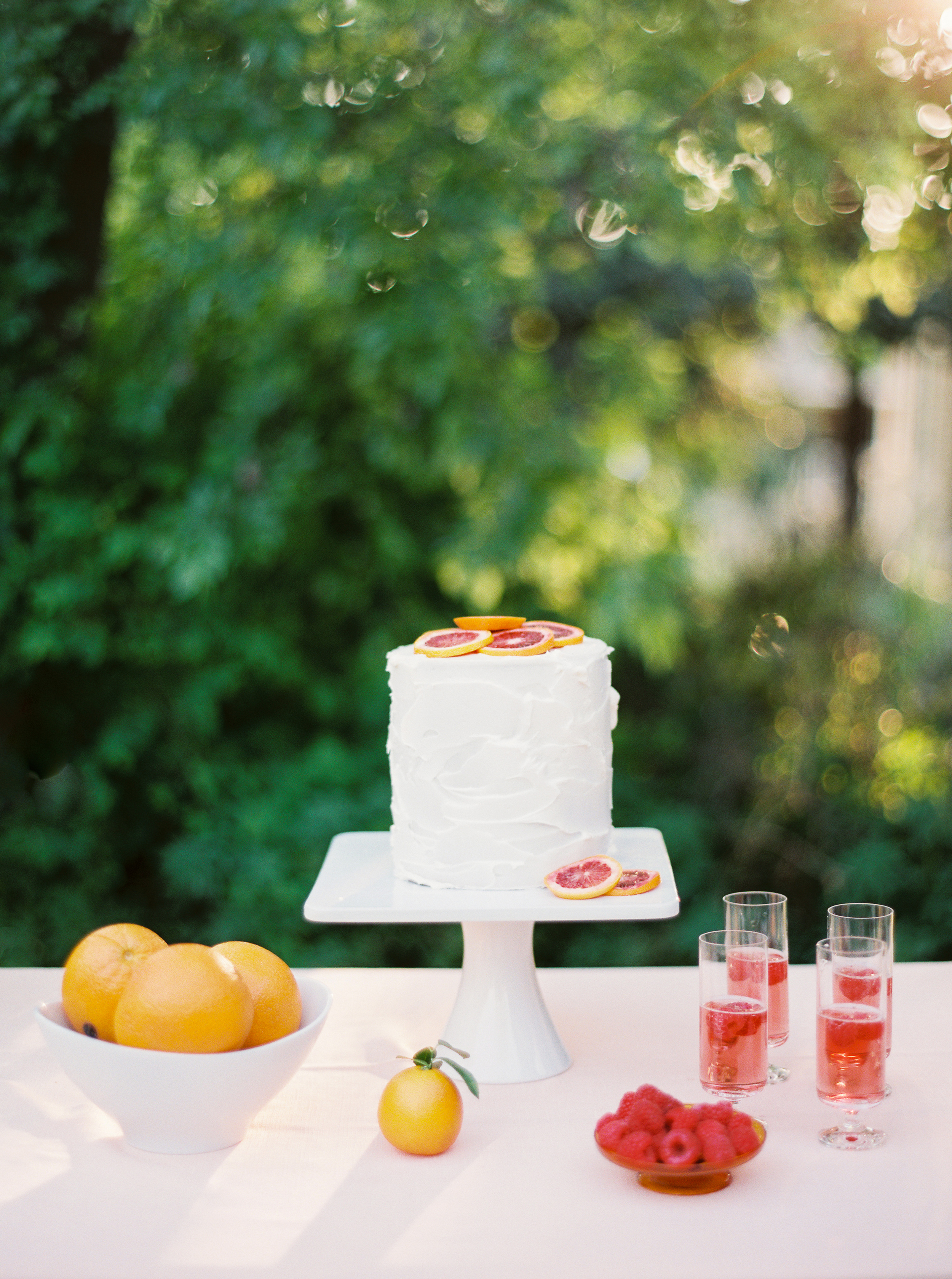 Colorful Bridal Lunch Inspiration