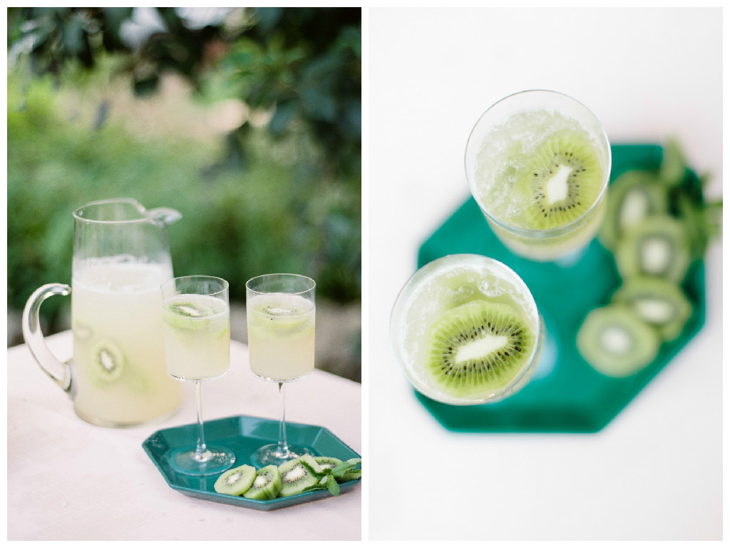 Kiwi Lemon Spritzer