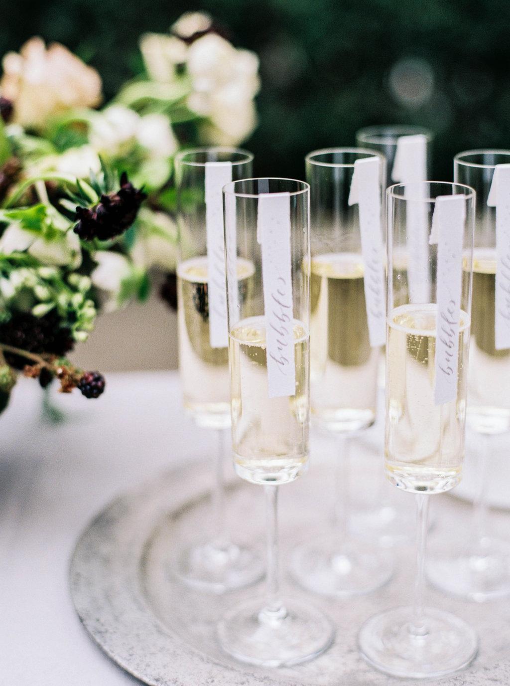 Organic Black & White Wedding Inspiration - Lindsey Brunk