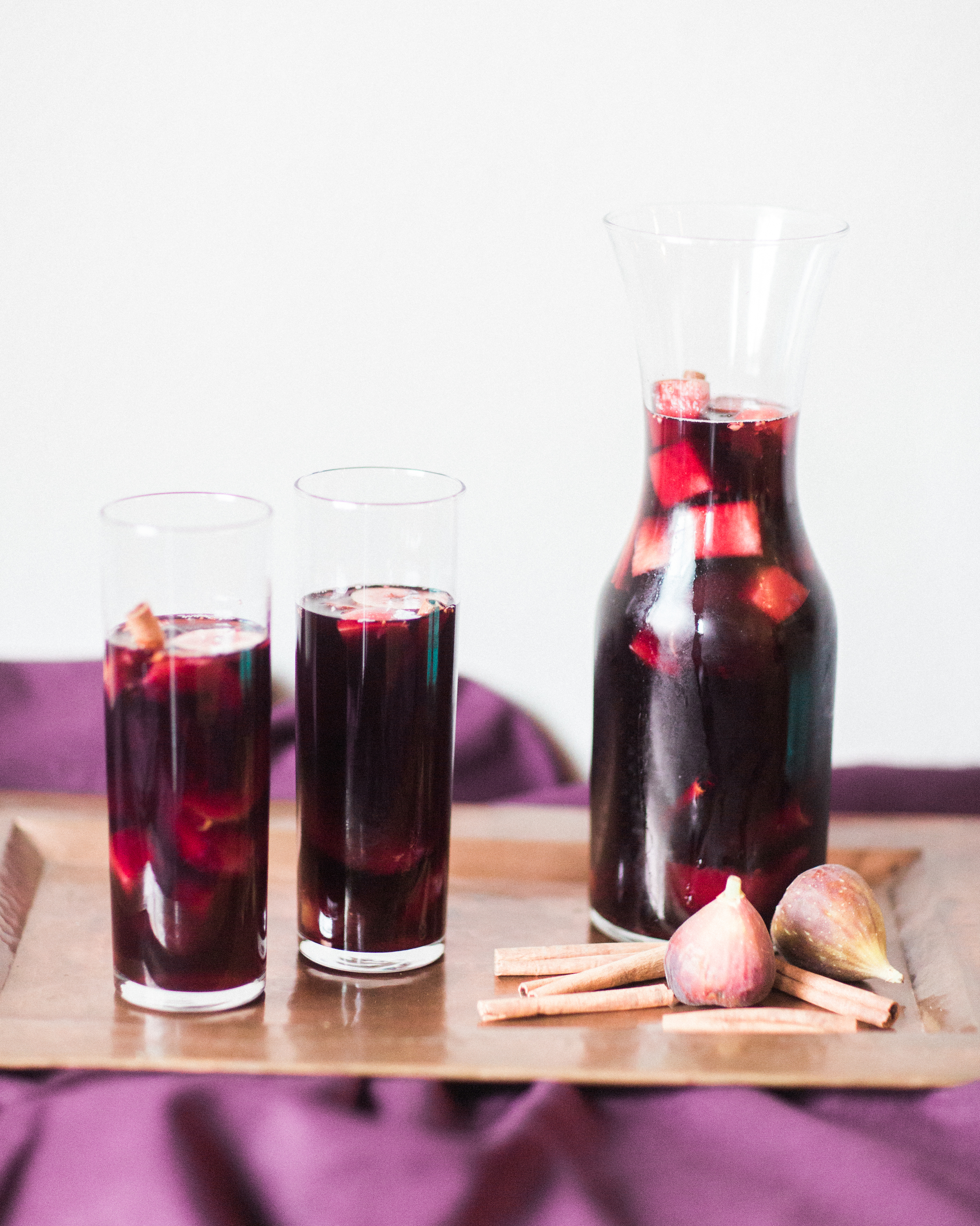 Whiskey Fig Sangria - Lindsey Brunk