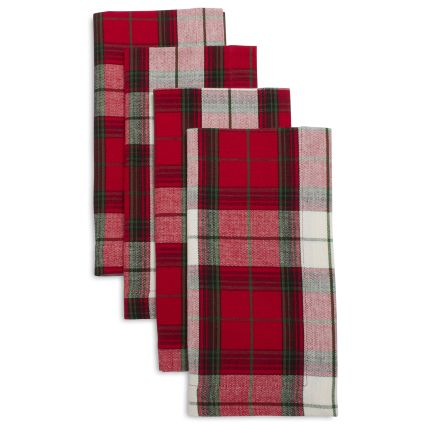 Sur la Table Tartan Plaid Napkins